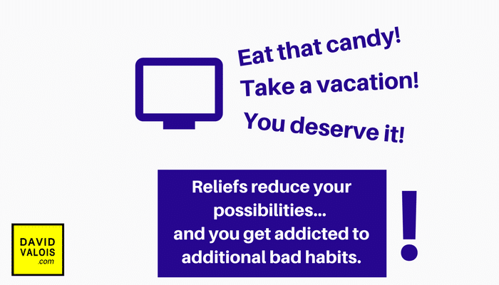 Resist temptation to not get addicted to bad habits