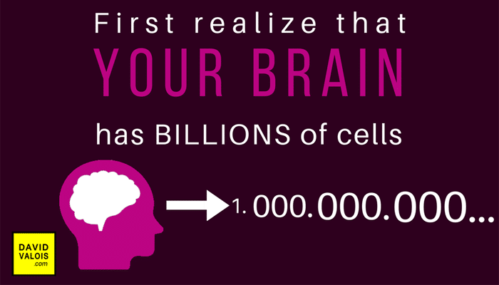 Your brain has billions of cells