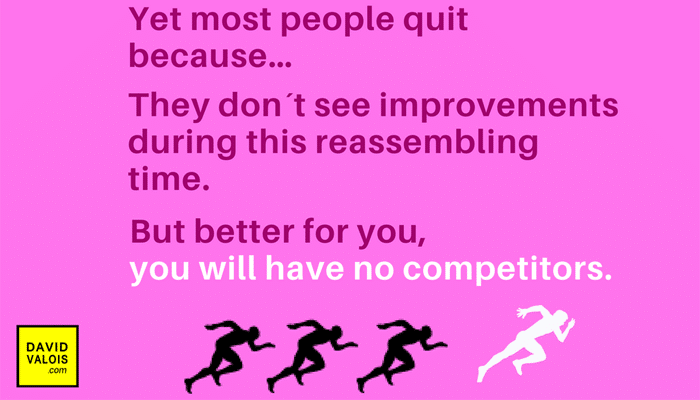 Persevere and you will eliminate all your competitors