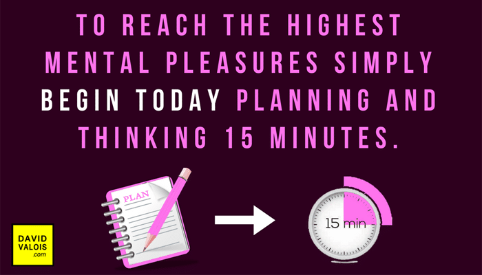 Plan 15 minutes daily and you will enjoy it